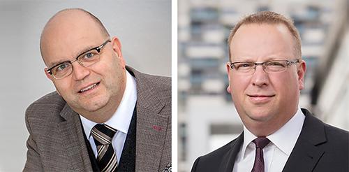 Thomas Uppenbrink und RA Dr. Sascha Besau